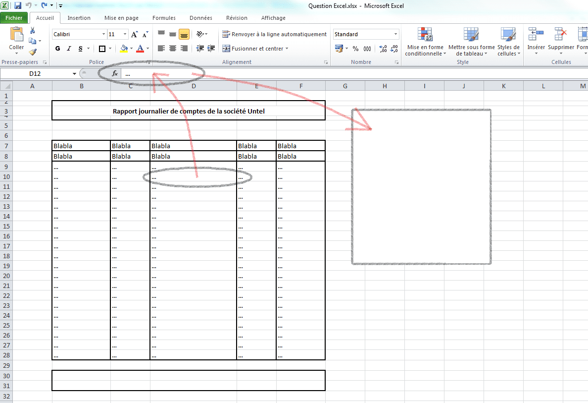 questions excel