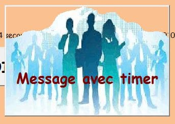 message timer