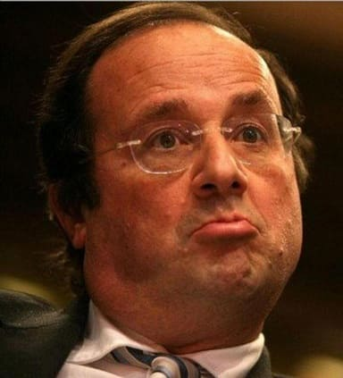 le gouvernement hollande moque par le magazine