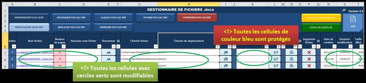 protection gestionnaire