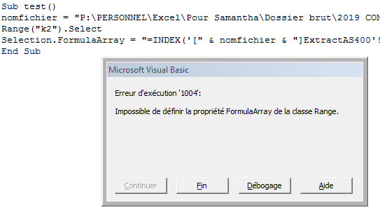 execution code