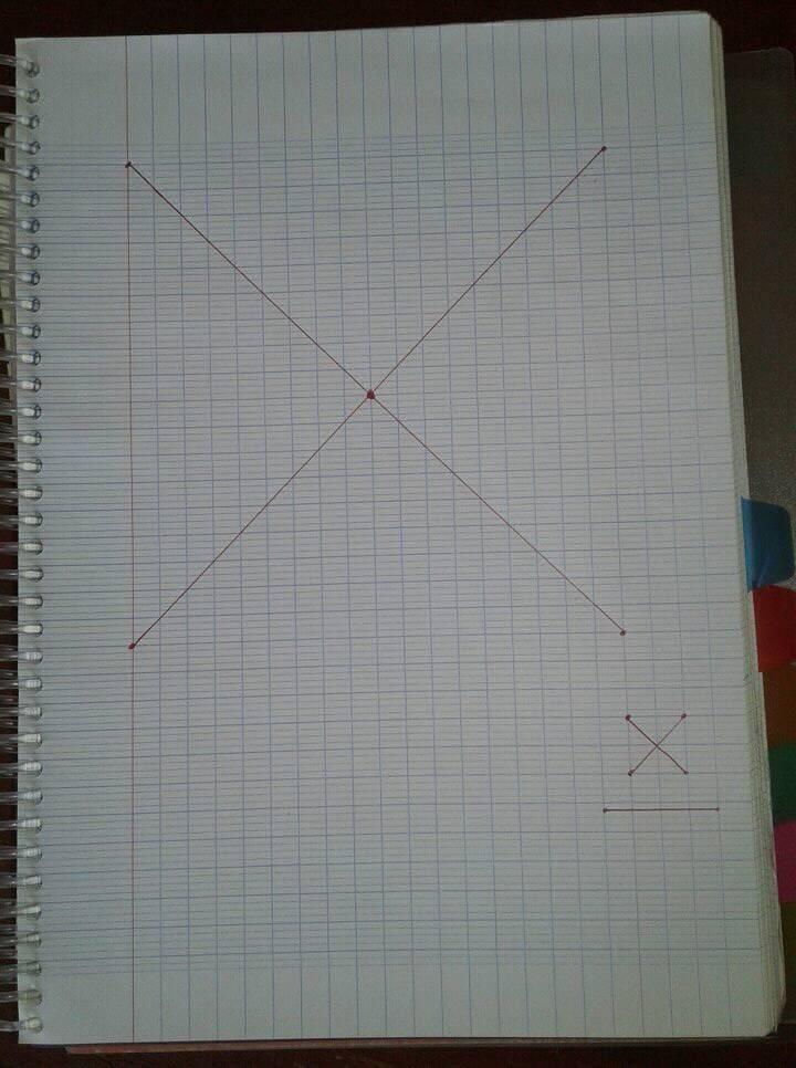 diagonale avec le petit carre du bas a droite reproduire idem