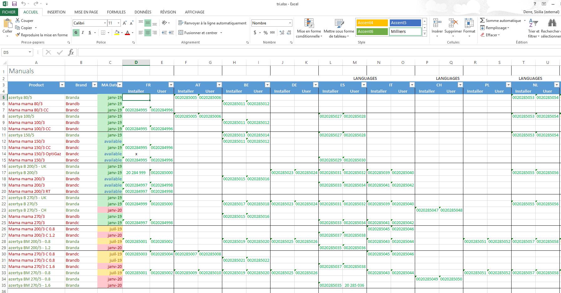 screenshot sheet manuals